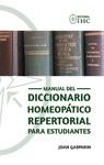 Manual del Diccionario Homeopático Repertorial para Estudiantes