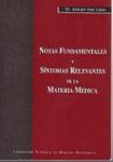 Notas fundamentales y síntomas relevantes de la Materia Médica