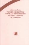 TRATADO HOMEOPÁTICO SOBRE LAS ENFERMEDADES AGUDAS Y CRÓNICAS DE LOS NIÑOS