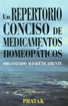 Un Repertorio conciso de Medicamentos Homeopáticos