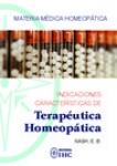 Indicaciones características de Terapéutica Homeopática