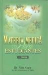 MATERIA MEDICA PARA ESTUDIANTES (1ª PARTE)