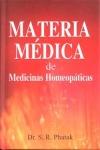 MATERIA MÉDICA DE MEDICINAS HOMEOPÁTICAS