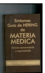 Síntomas Guía de Hering de Materia Médica. Colección completa.